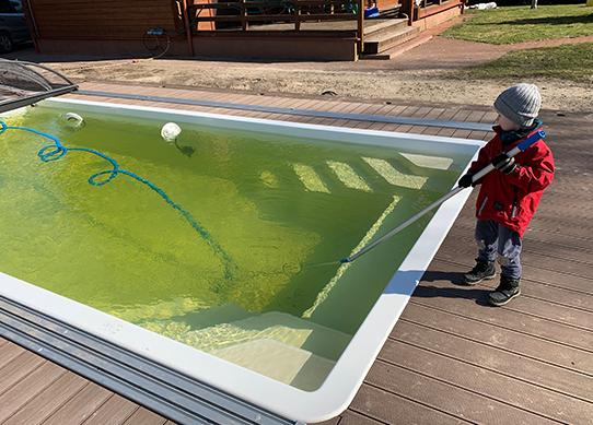 baseino valymas baseino valymo įranga chemija baseinams