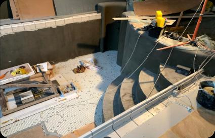 druskininku spa baseino irengimo betonavimo etapas aqua spektras