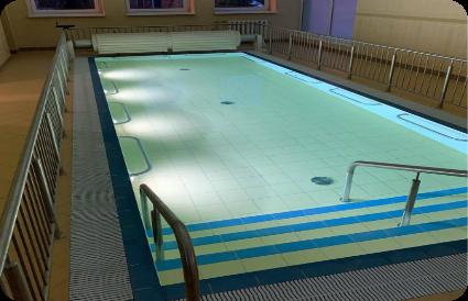 Avižonio Regos Centras baseino irengimas su apdaila