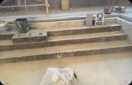 baseino betonavo darbai