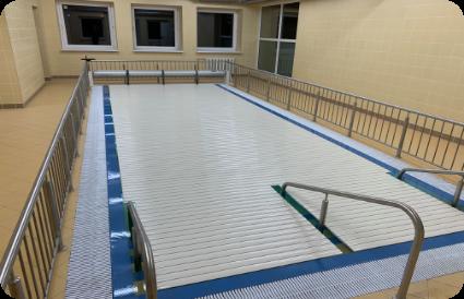 baseino uždengimas