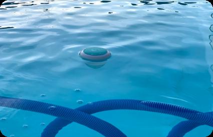 lauko baseinas. ICO išmanusis baseino vandens testeris