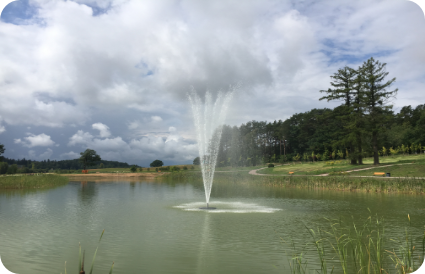 Plaukiančių fontanų įrengimas