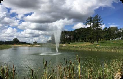 Plaukiantis fontanas Harmonijos parke