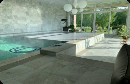 Vidaus plaukimo baseinas Aqua spektras baseinų įrengimas modernūs baseinai