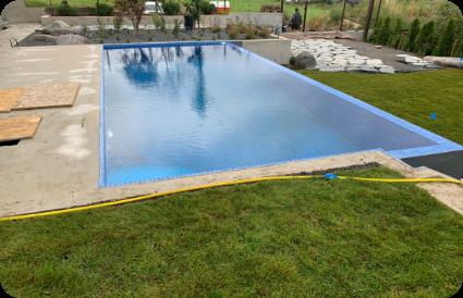 gražus lauko baseinas lauko baseino pavyzdžiai